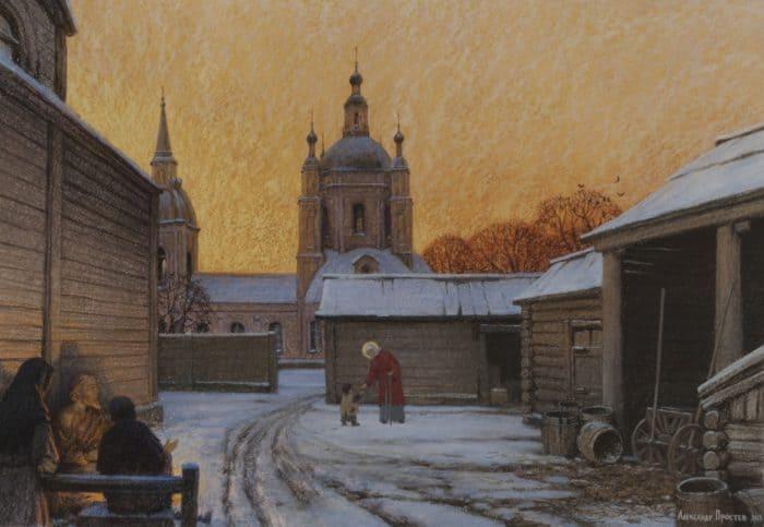 «Я обиделся и решил уйти из храма, не приняв Крещения» — история художника, который написал более полусотни картин о Ксении Петербургской