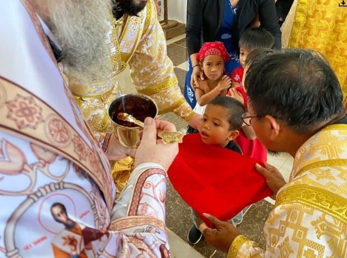 На Филиппинах освятили первый русский храм