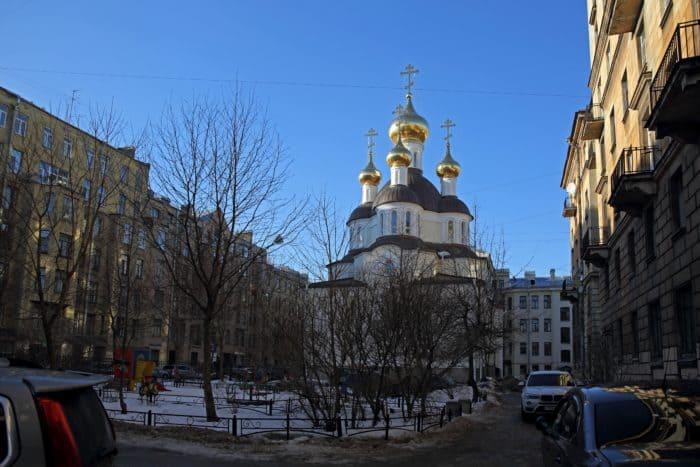Первый в Петербурге храм блаженной Ксении  отпраздновал свой первый престольный праздник