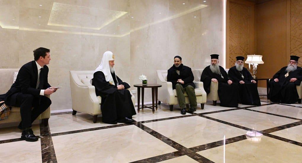 Патриарх Кирилл прибыл в Амман на совещание по ситуации в мировом православии