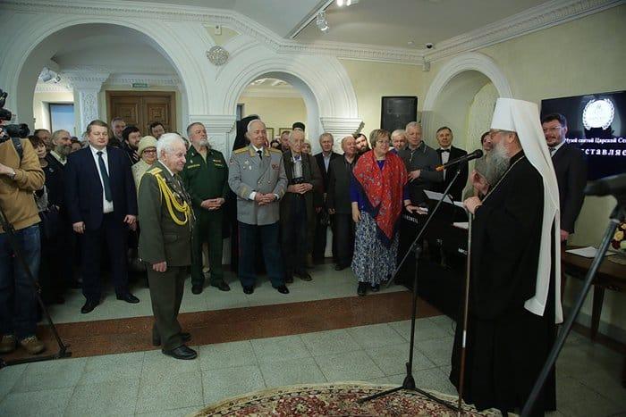 Свидетели Победы: в Екатеринбургской епархии открылась выставка о Великой Отечественной