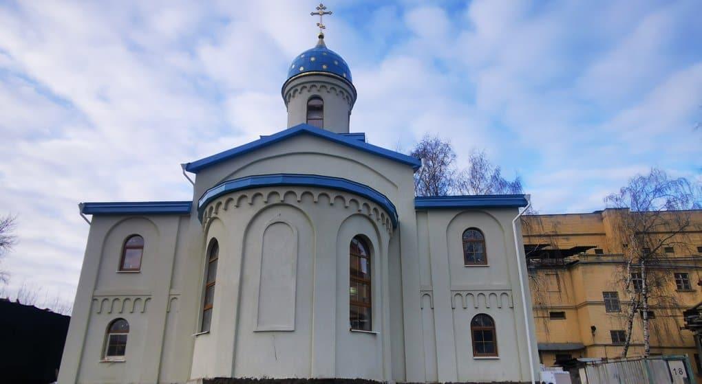 В СИЗО «Матросская Тишина» завершается строительство храма