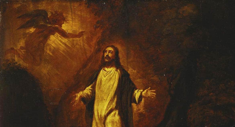 Если Отец и Сын — одно, в Гефсиманскому саду Христос молился Самому Себе?