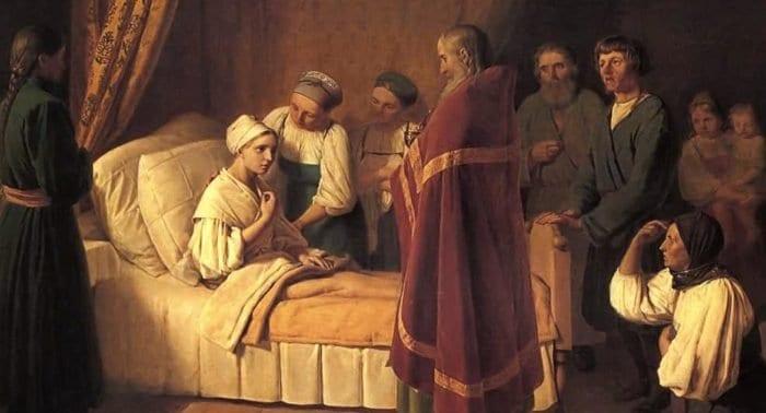 Эпидемии и заразные болезни: как причащали священники в XIX веке?