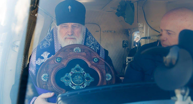 Минск облетели воздушным крестным ходом с молитвами о защите от коронавируса