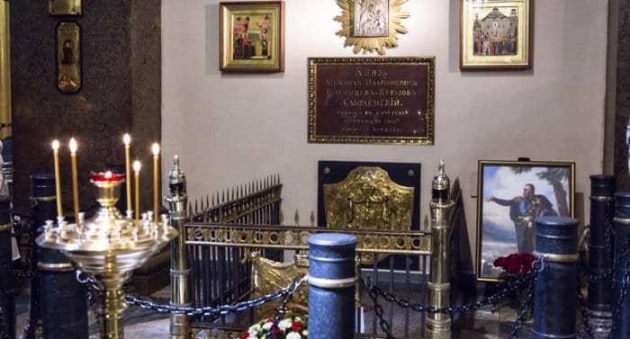 Президент поручил принять меры для сохранения могилы Михаила Кутузова в Петербурге