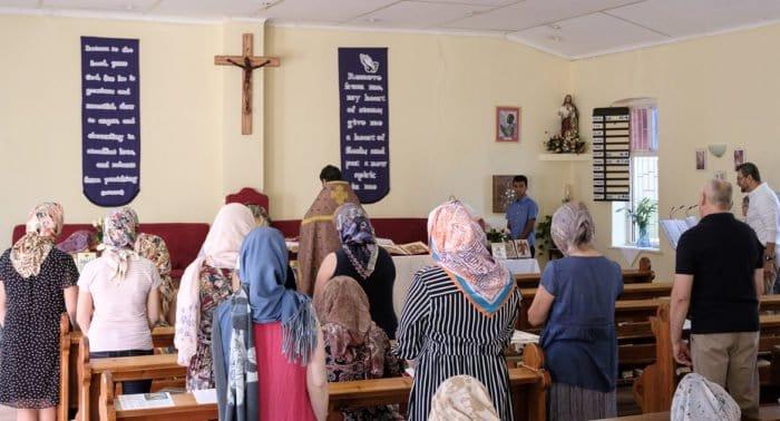 В столице Намибии впервые совершили Литургию с участием хора местной общины