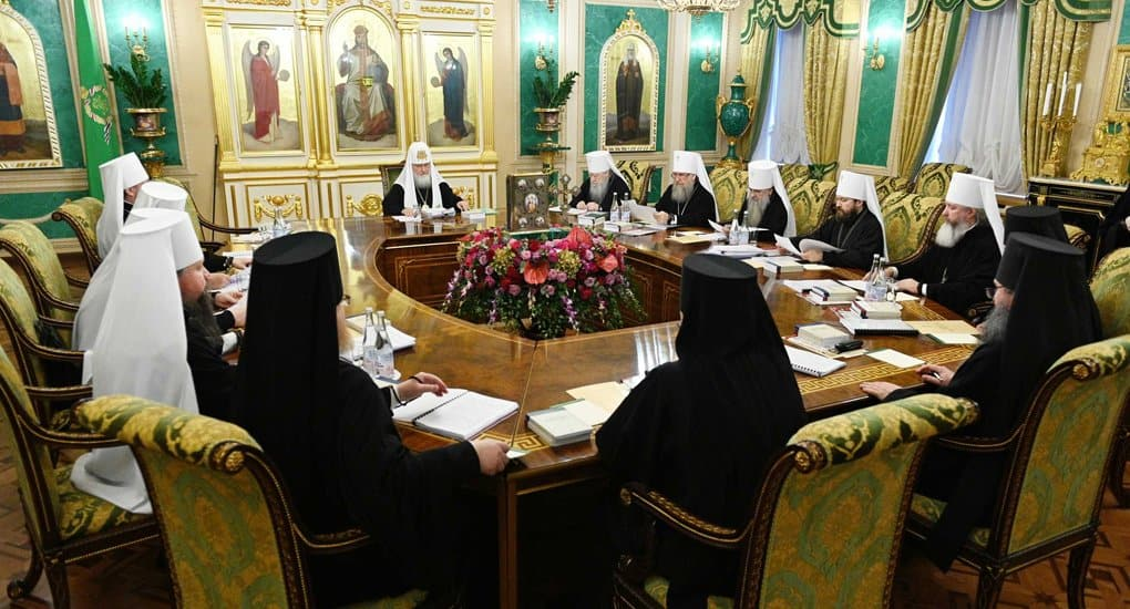 Послание Священного Синода Русской Православной Церкви епископату, клиру, монашествующим и мирянам в связи с нашедшим в ...