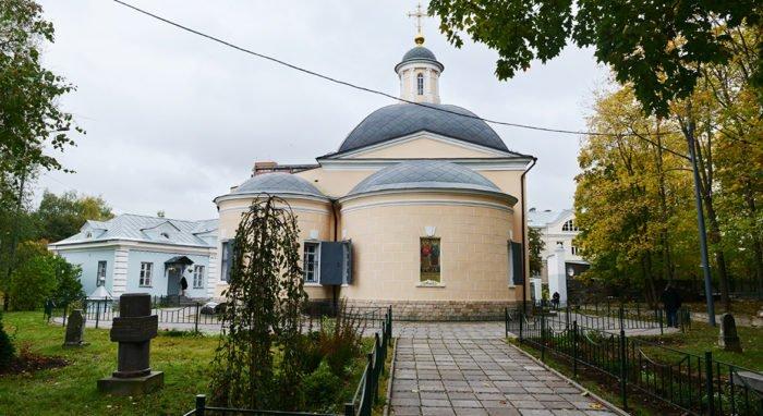 Церкви передали храм святых Космы и Дамиана в Космодемьянском