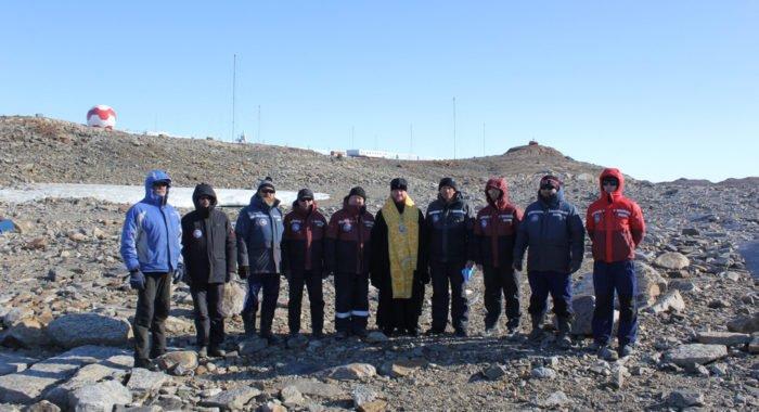 В Антарктиде освятили место под часовню в честь святого Николая Чудотворца
