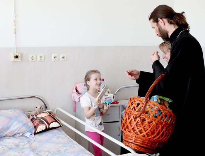 Стартовала акция «Дари радость на Пасху» по сбору подарков для нуждающихся
