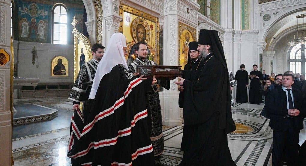 Сретенскому монастырю Москвы передали частицу мощей святого апостола Павла