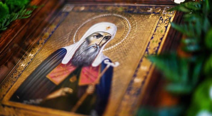 Церковь чтит память святого патриарха Ермогена