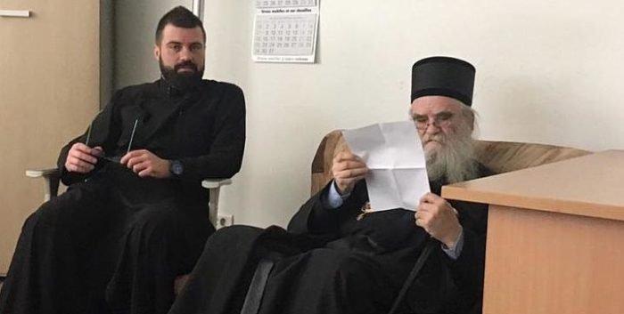 Полиция Черногории на полдня задержала митрополита Черногорско-Приморского Амфилохия