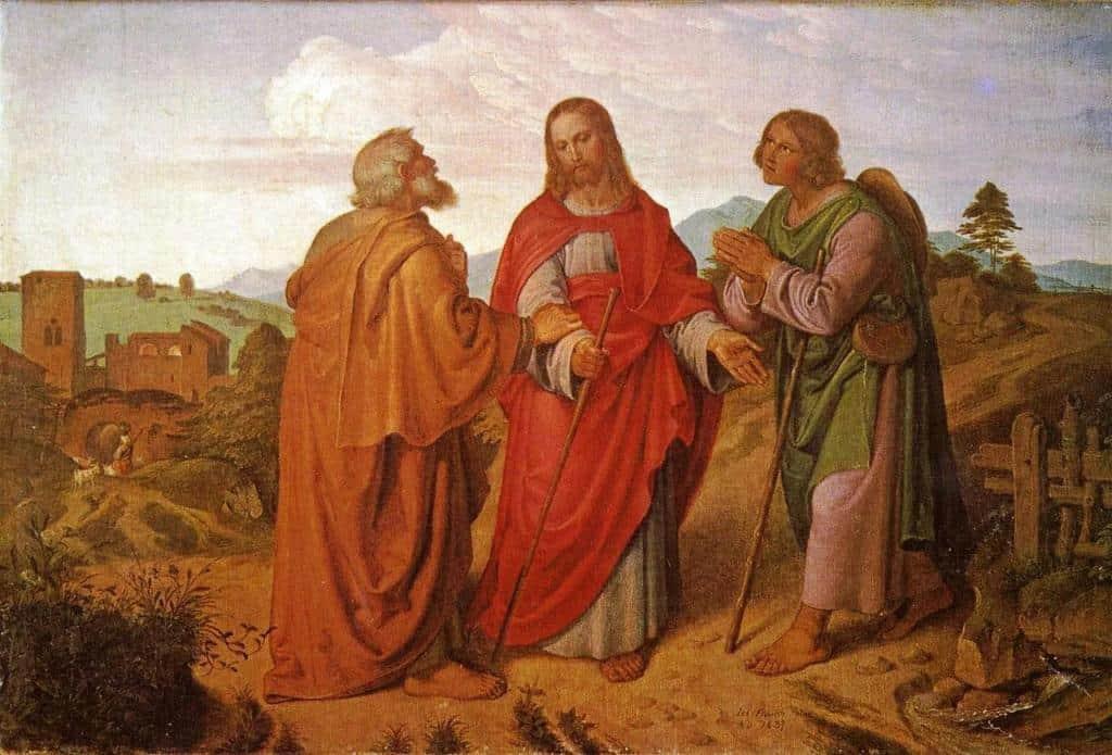 Явление Луке и Клеопе по дороге в Эммаус