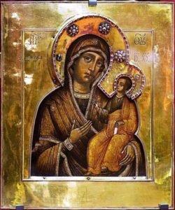 Перед какими иконами молились русские люди во время эпидемий