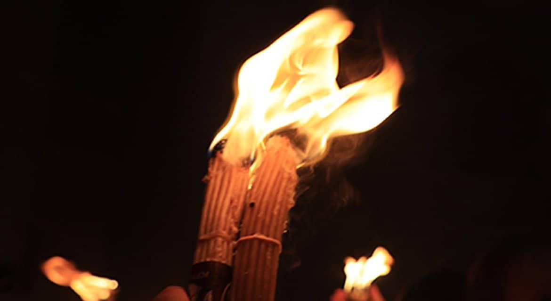 В иерусалимском храме Гроба Господня сошел Благодатный огонь