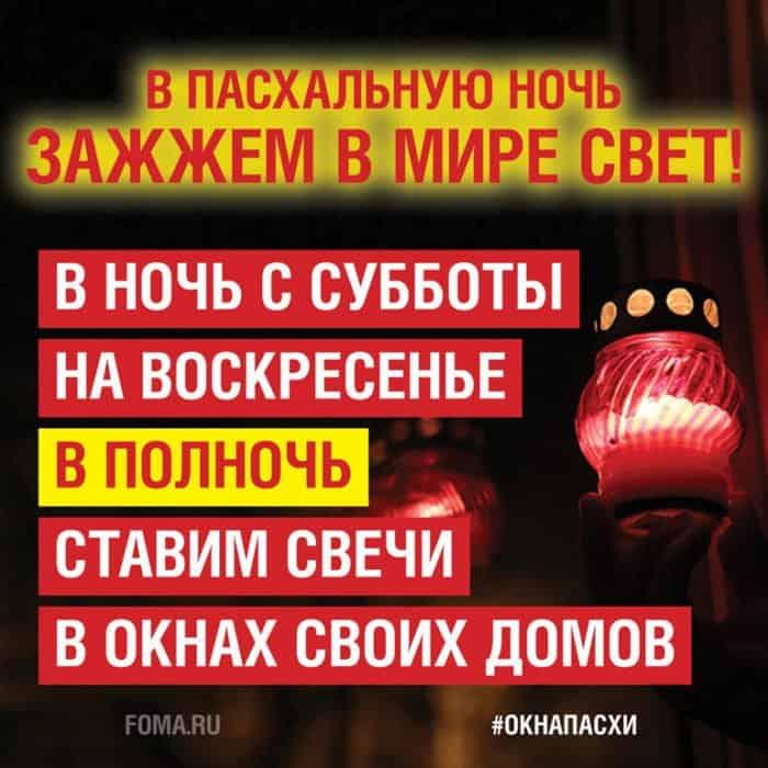 Владимир Легойда напомнил о мерах противопожарной безопасности во время всероссийской акции #окнаПасхи