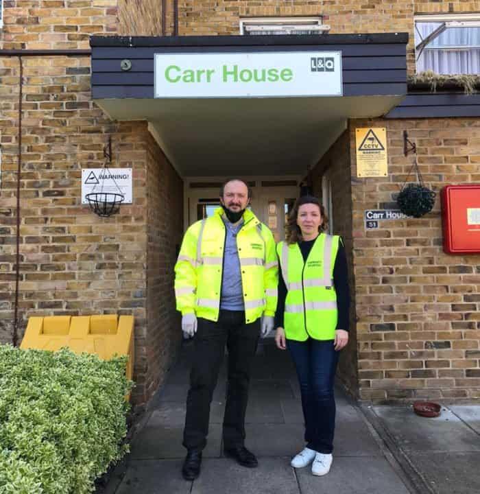 Православные волонтеры в условиях коронавируса помогают нуждающимся верующим Великобритании