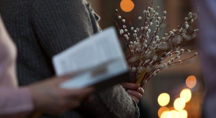 Опубликовано последование вечерни и малого повечерия Вербного воскресенья для домашней молитвы
