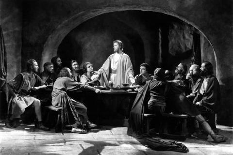 Кадр из фильма «Царь Царей», 1927