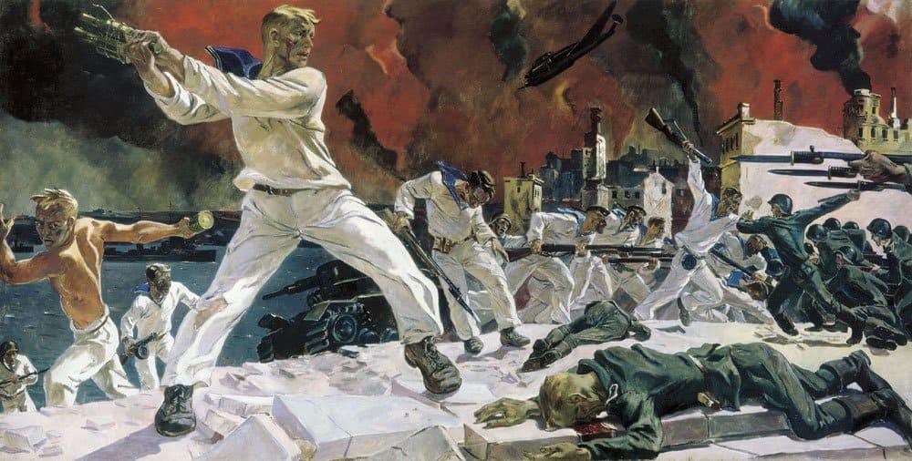 13 поразительных картин о Великой Отечественной войне