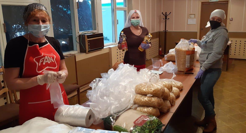 В Казахстане служба «Милосердие» из-за пандемии в несколько раз увеличила объемы помощи