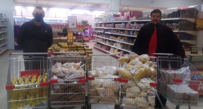 За один месяц православные Омска передали нуждающимся более 1,5 тысяч продуктовых наборов