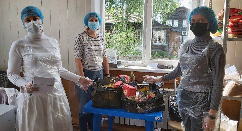 Более 3 тонн продуктов передала нуждающимся Серовская епархия