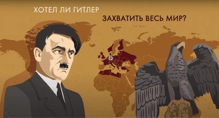 План Гитлера на Вторую мировую