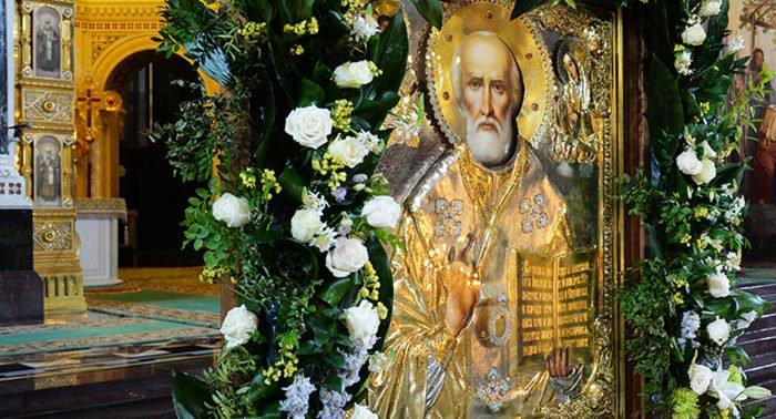Церковь празднует память святителя Николая Чудотворца