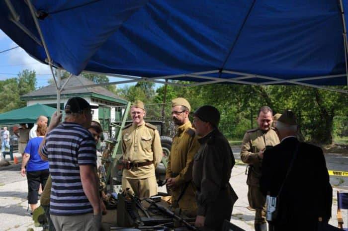 В канадском Торонто сохраняют память о советской стрелковой дивизии