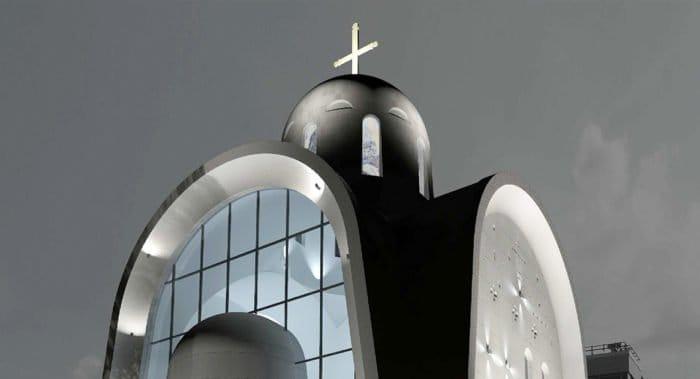 Проект московского храма со стеклянной стеной победил в престижном международном конкурсе