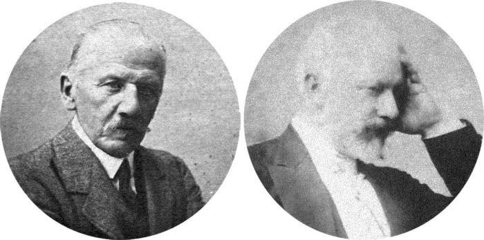 Модест и Петр Чайковские