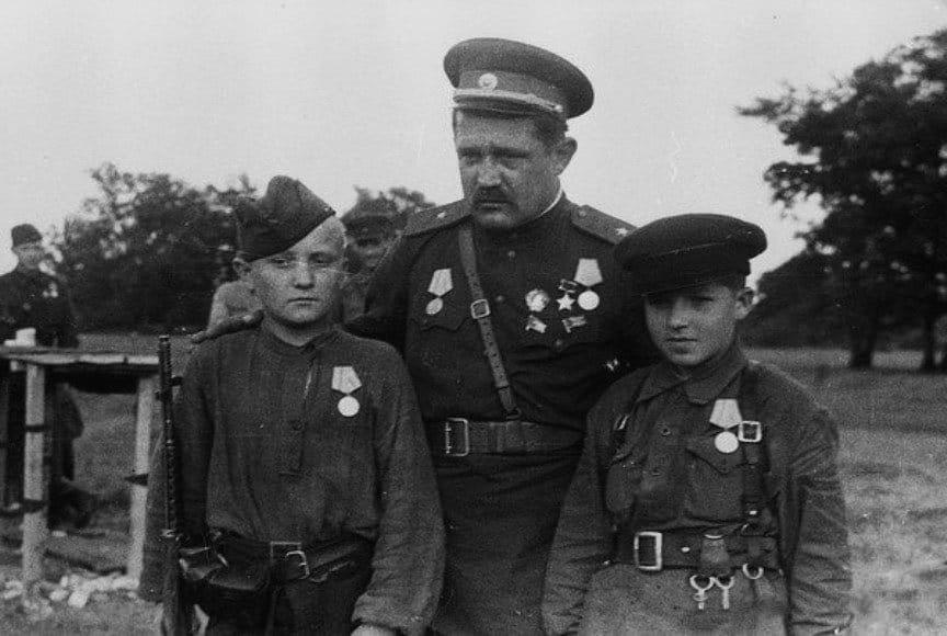 3 партизана-героя Великой Отечественной Войны