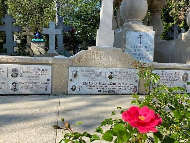 Память матери Марии (Скобцовой) увековечили на известном парижском кладбище