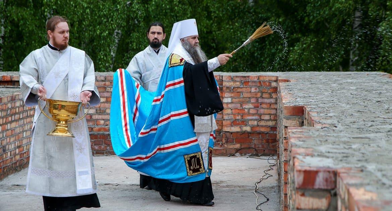 Началось воссоздание древнего храма в нижегородском кремле