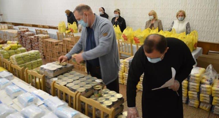 В условиях пандемии Церковь стала одним из центров оказания благотворительной помощи