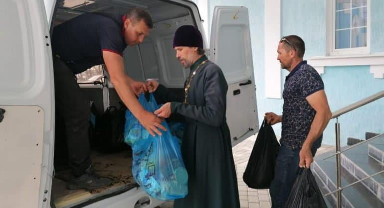 В условиях пандемии в Тихорецкой епархии выросло количество добровольцев