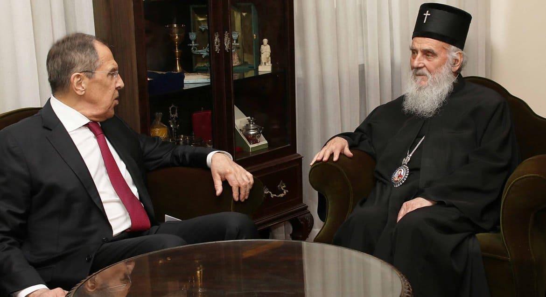 Сергей Лавров заявил о поддержке Россией Сербской Православной Церкви