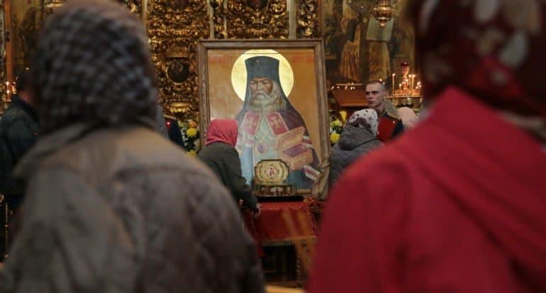 Мощи святителя Луки Крымского принесут в главный храм Вооруженных сил России