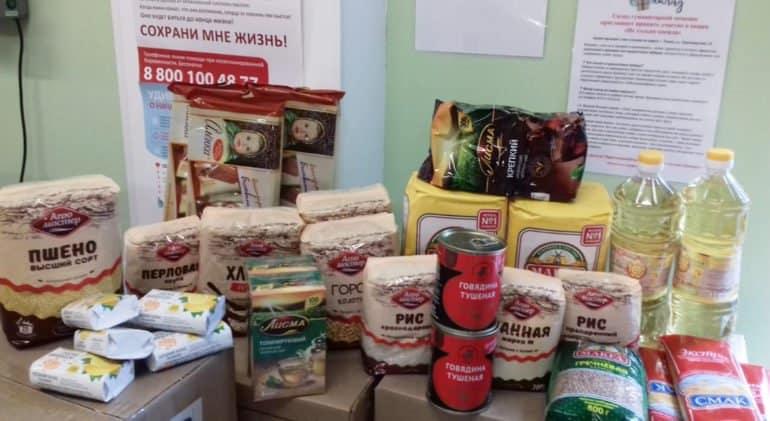 Епархии Русской Церкви раздали нуждающимся почти 6,5 тысяч продуктовых наборов