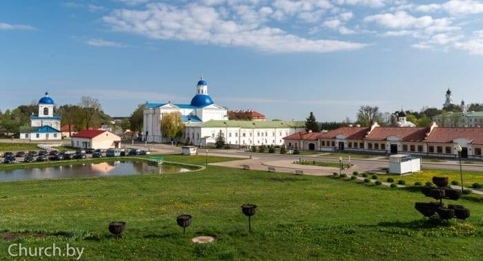 В Беларуси после карантина открылся Жировичский монастырь