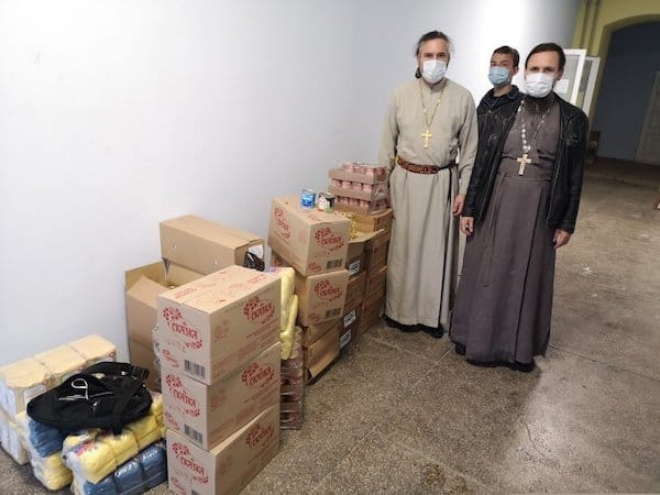 В Крыму Церковь передала нуждающимся более 5 тонн продуктов