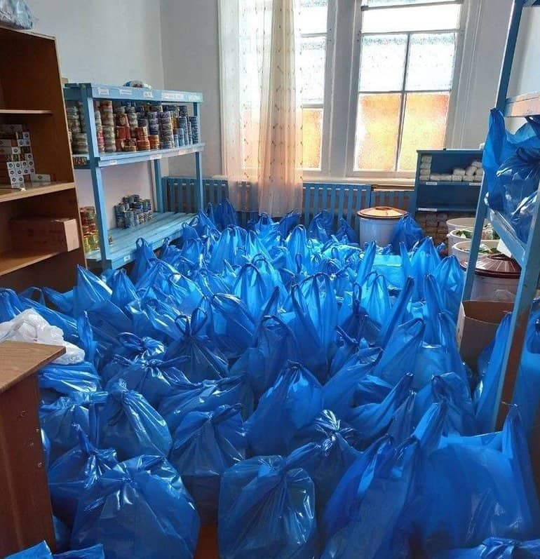 Более 6,5 млн. рублей передает Церковь на помощь жителям самых нуждающихся регионов