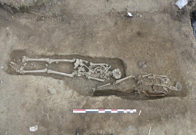 Раннехристианский некрополь раскопали во французском Отёне