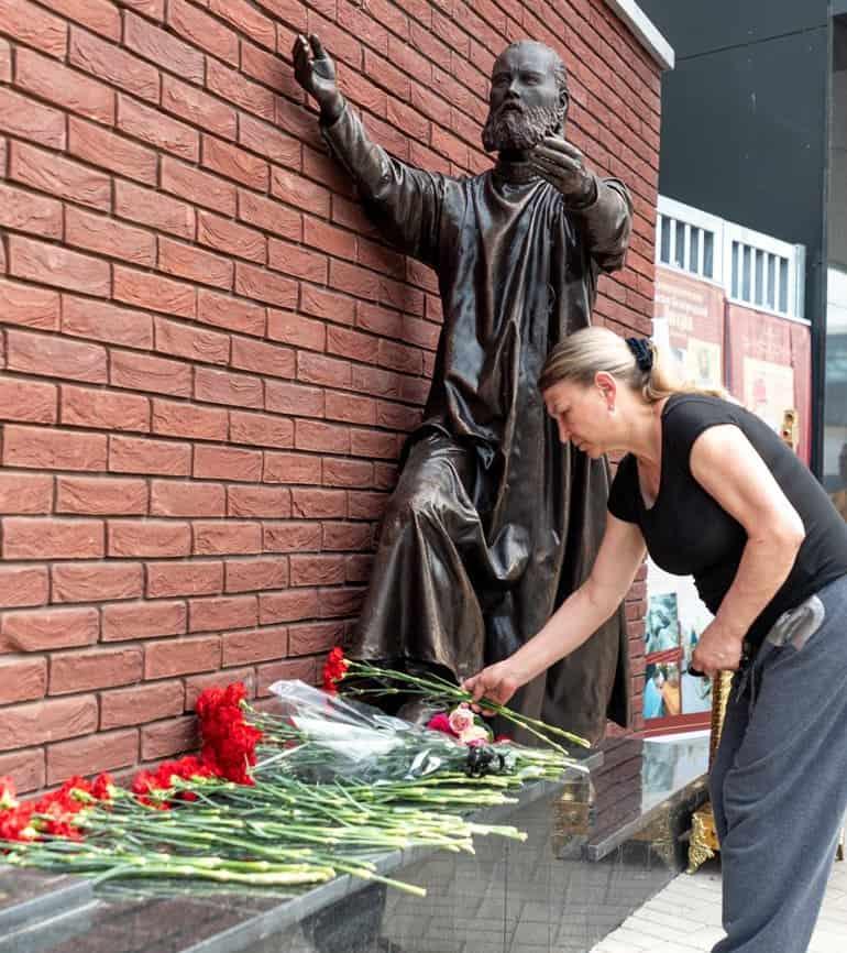 «Не предали Христа»: открыт мемориал белгородским новомученикам и исповедникам