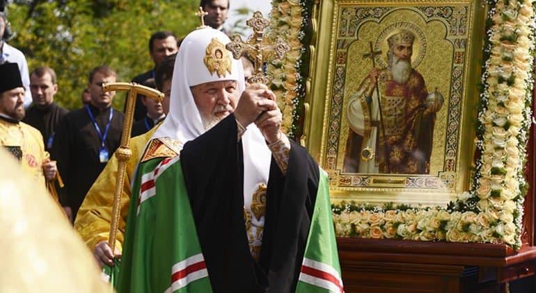 Патриарх Кирилл назвал Крещение Руси главным «революционным событием» в истории страны