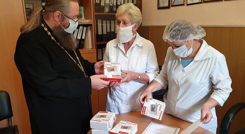 Ярославская епархия передала районным больницам медоборудование