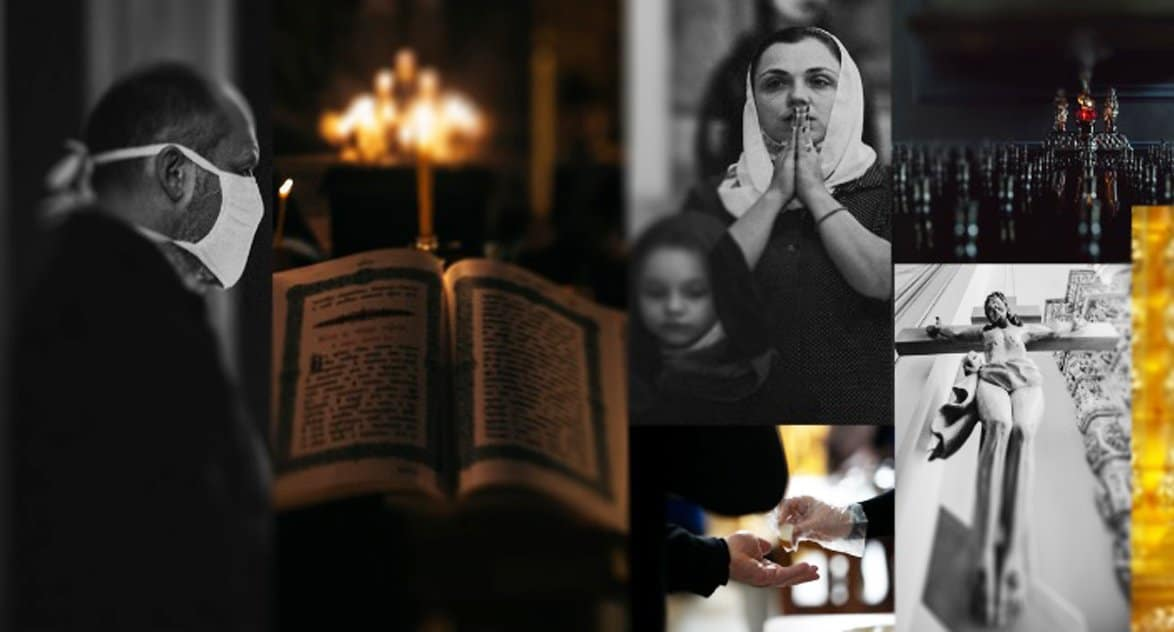 Представлена виртуальная фотовыставка о Церкви во время пандемии